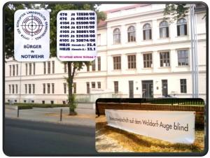 Staatsanwaltschaft auf dem Waldorf-Auge blind